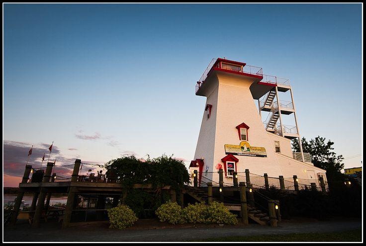 Fredericton's lighthouse (New Brunswick)