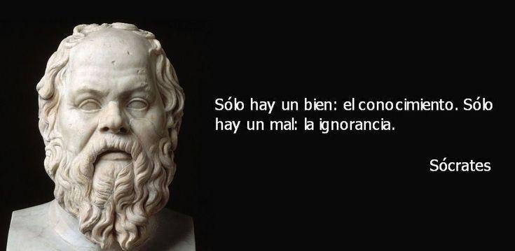 Frases de Sócrates para la vida,