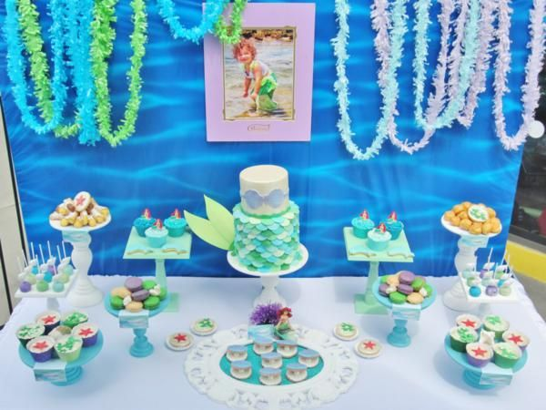 1000 images about once upon a time little mermaid on for Ariel decoration party