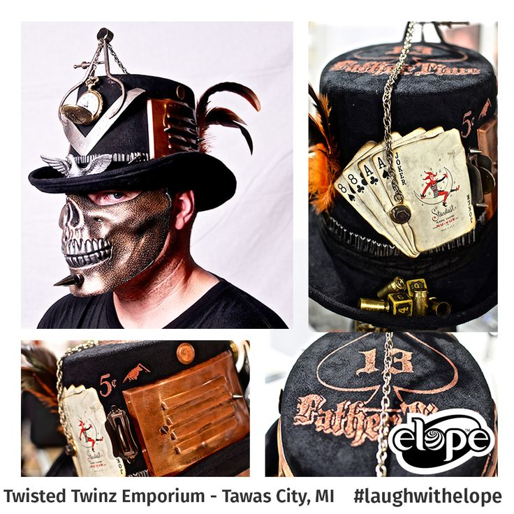 """""""Father Time: The Mason"""" by Matt Maxfield Twisted Twinz Emporium  Vote for this hat: http://woobox.com/27q2tb"""
