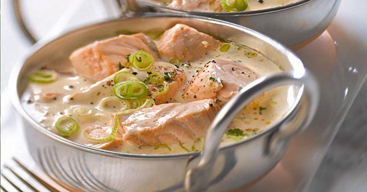 Une blanquette de saumon qui plaira à tous ... Simple et rapide à préparer