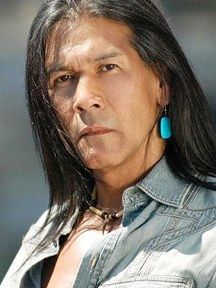 """Marcos Akiaten - 1948-2010  - Actor & Activist. He was of CHOKONEN CHIRICAHUA APACHE descent, and as he once said, """"I am an Indian first, and an actor second."""""""