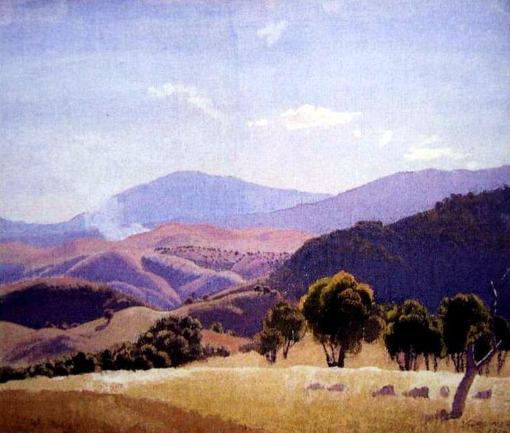 Rolling Hills, 1934 elioth gruner