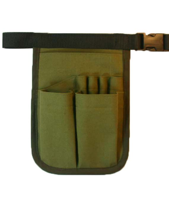 """Librarians will love this sturdy 8 pocket compact 7""""x9"""" tool belt called Basic HipNotions.  Hands free!: Ipod"""