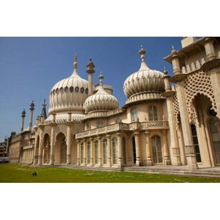 The Royal Pavilion Brighton East Sussex England Canvas Art - David Wall DanitaDelimont (38 x 25)
