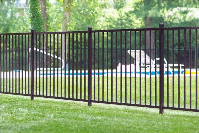 5 Foot Ornamental Iron Fence With Images Aluminum Fence