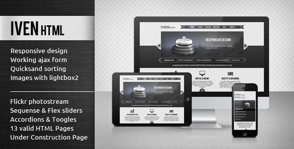 Iven - HTML Template
