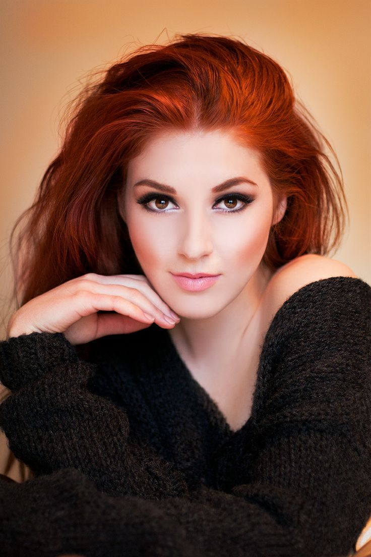 redhead beauty #red #hair #color