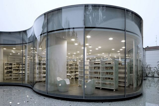 Arquitetura de Bibliotecas - Library Architecture: Itália