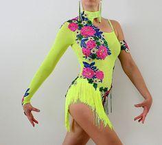 Salsa Bachata Caribe baile vestido para mostrar por CrinolinAtelier