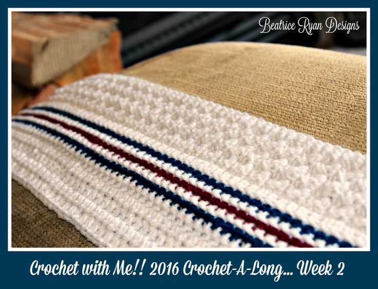 Crochet With Me!! Winter 2016 Crochet-A-Long... Week 2 Let The Stitching Begin!!