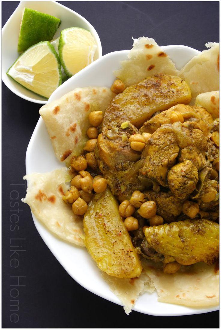 Iraqi-style stewed chicken