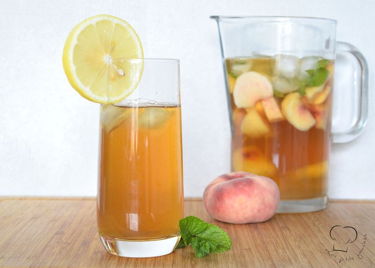ICE TEA PECHE MAISON