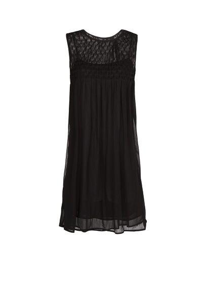 MANGO - Babydoll-Kleid aus Chiffon