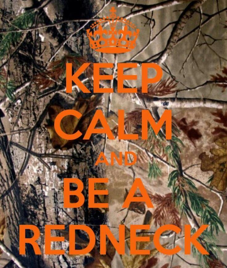 In no ways are redneks calm!!! haha!