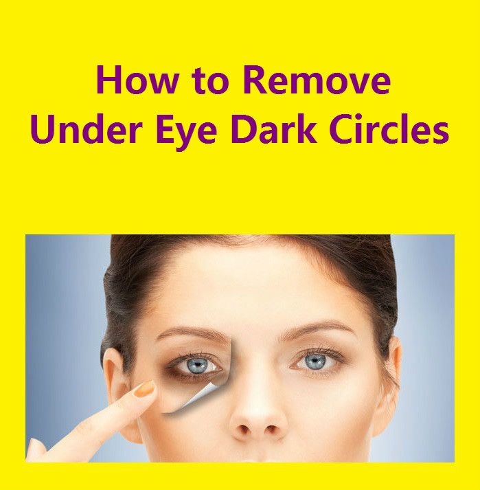 *  Under eye dark circles can be a real headache for anyone. They give a tired and dull look to your face and in fact they are often difficult to hi