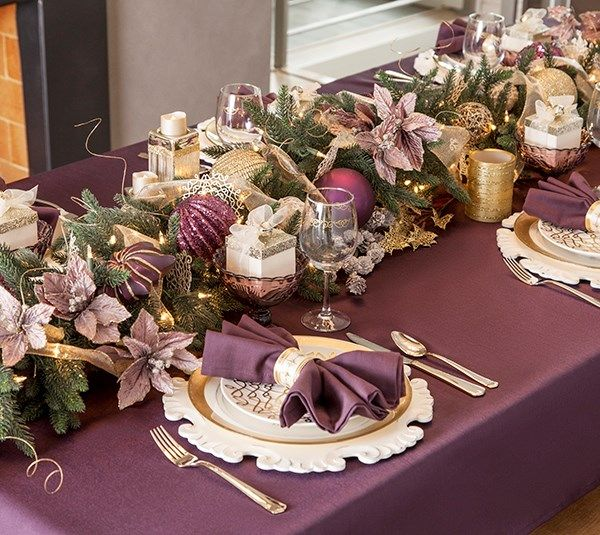 Beautiful Table Centerpieces: 17 Best Images About Christmas Table On Pinterest
