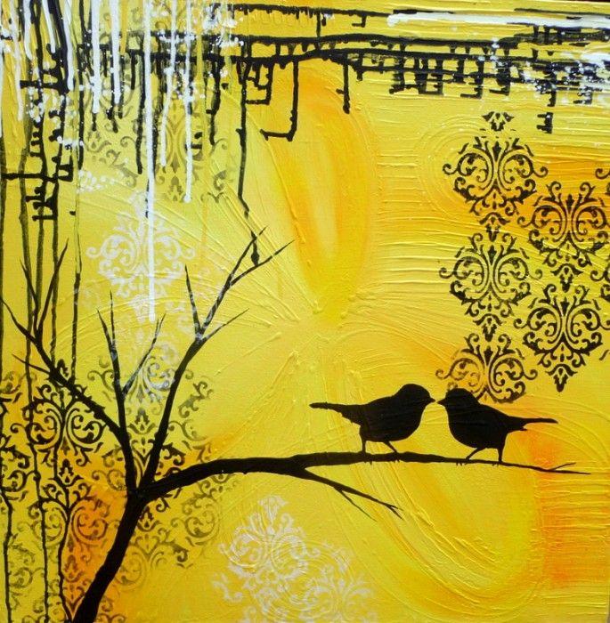 Two Birds Yellow