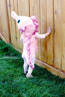 Seahorse Costume::creatively christy