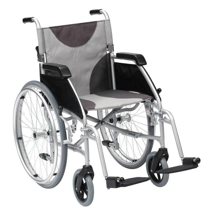Ultra lightweight wheelchair 115kg capacity LAWC007 - Disability Shop