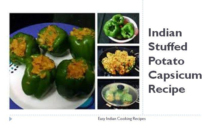 Indian stuffed potato capsicum recipe is a recipe which is prepared by filling…