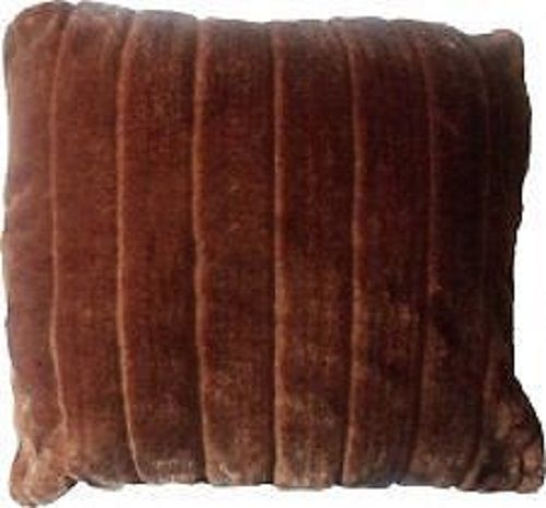 Faux Fur Brown Cushion Cover – Linen and Bedding