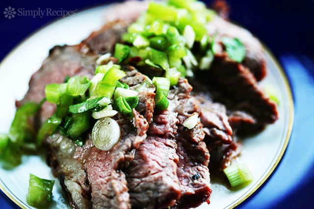 Tri-Tip Steak with Bell Pepper Salsa ~ Grilled, marinated tri tip ...