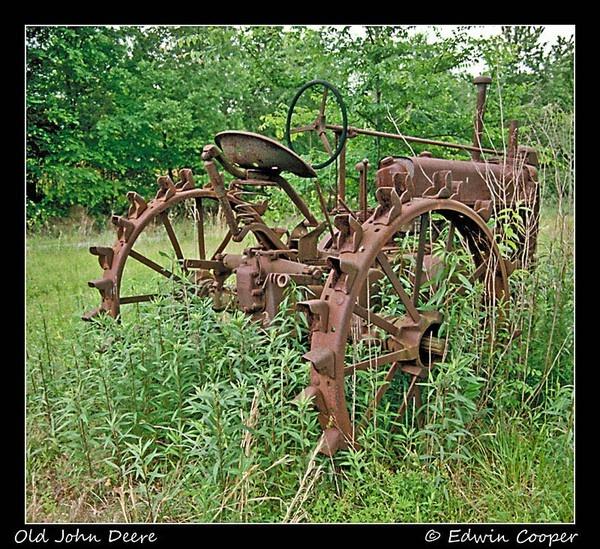 Old John Deere farm-life