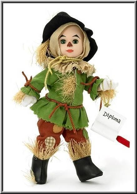Madame Alexander Scarecrow Wizard of Oz 8 Inch Doll! CLOSE OUT PRICE!