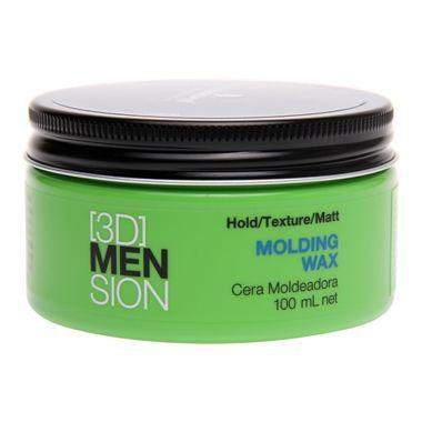 Schwarzkopf 3D Mension Molding Wax é uma cera modeladora que permite a criação dos mais variados estilos de cabelo masculino. Proporciona finalização com flexibilidade dos fios e brilho natural. Permite o remodelamento do penteado.