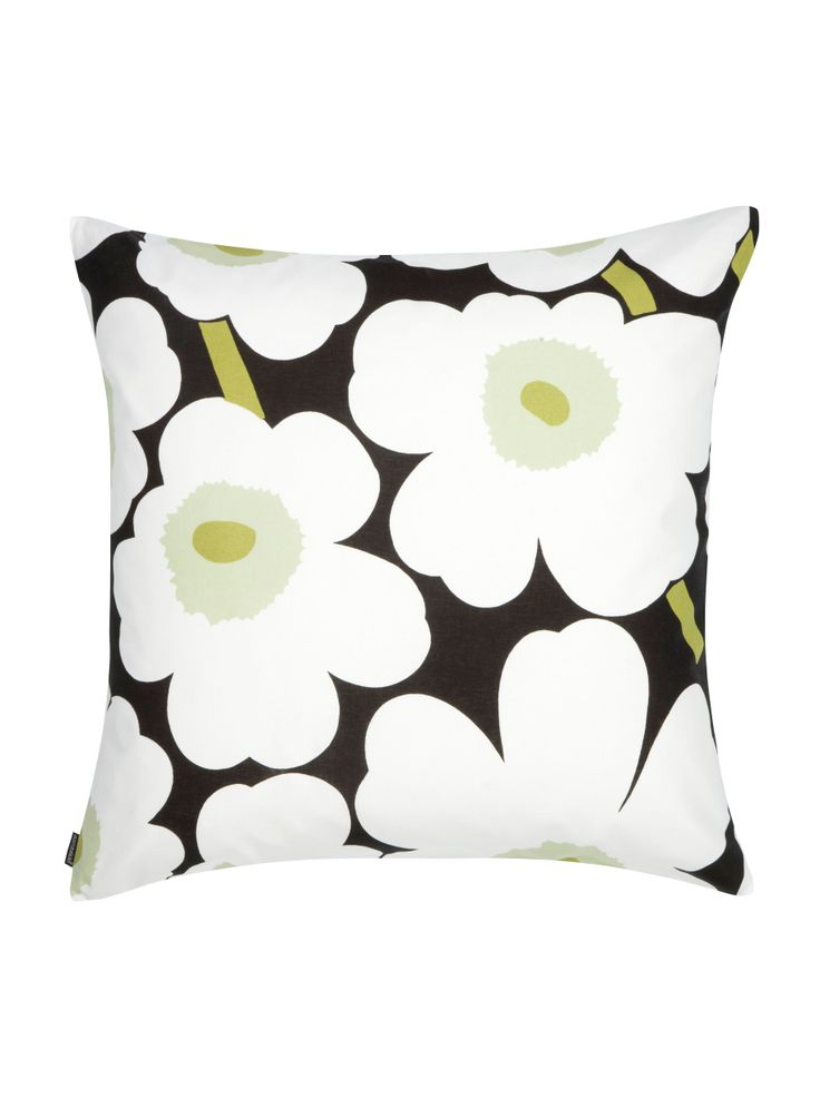 Marimekko Unikko print cushion - with duck down & feather insert £35.00 from Kozihaus.