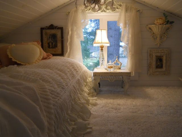 17 best images about shabby chic tiny homes on pinterest - Dormitorio shabby chic ...