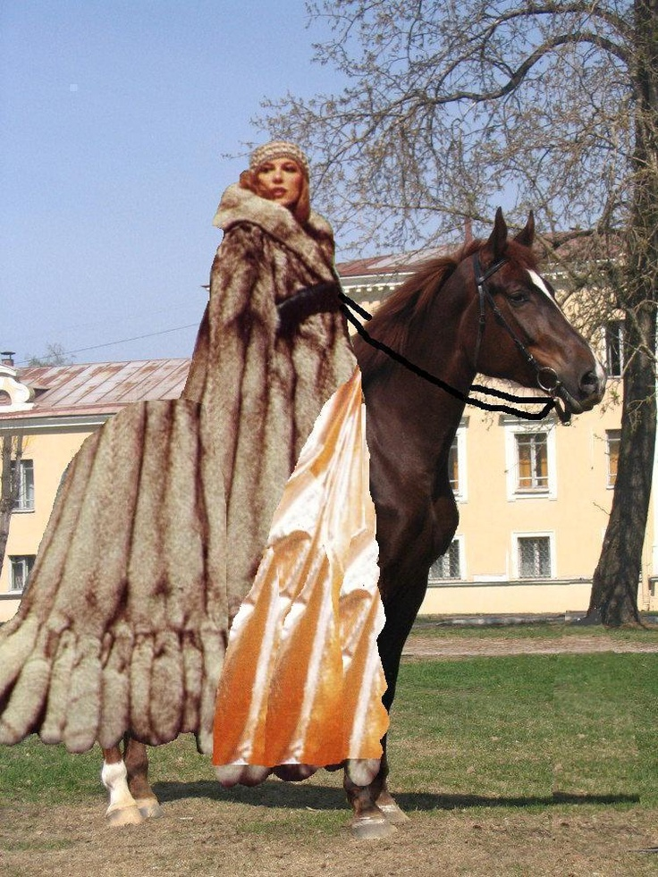 86 best fur coat on horseback images on Pinterest Fur coats - badezimmerm amp ouml bel