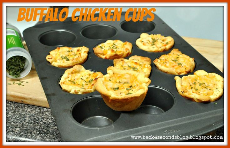 Buffalo Chicken Cups - Back for Seconds
