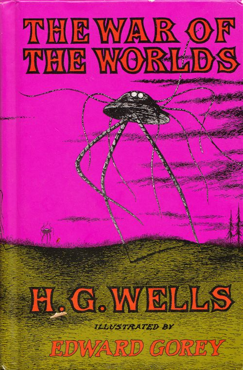 Edward Gorey's Vintage Illustrations for H. G. Wells's The War of the Worlds | Brain Pickings
