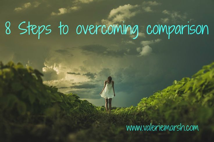 Blog post: 8 Steps to overcoming comparison