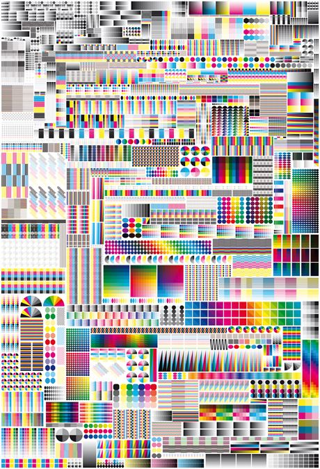 Specimen by Fanette Mellier, 2008: CMYK vs RGB. #Poster #Illustration #Graphic_Design #Fanette_Mellier