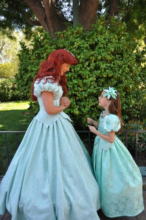 ariel blue dress disney world ariel costume little girl princess dresses cosplay. Black Bedroom Furniture Sets. Home Design Ideas
