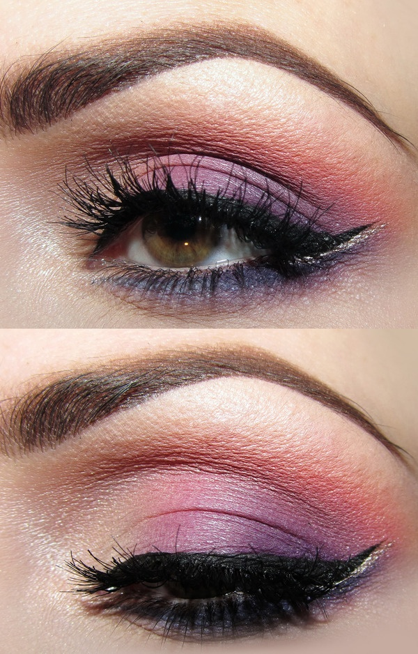 Colourful Makeup: Purple Eyeshadows, Colors Makeup, Colour Eye, Eye Shadows, Spring Colors, Brown Eye, Hair Makeup Nails, Artists Makeup, Colour Makeup
