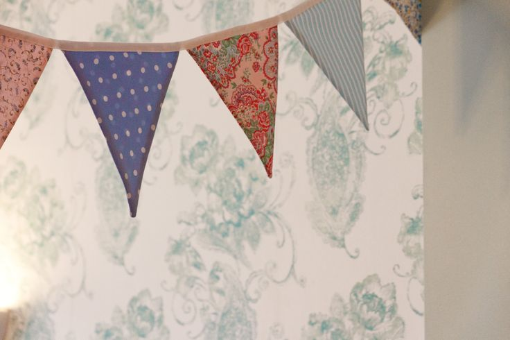 Pretty bunting homemade