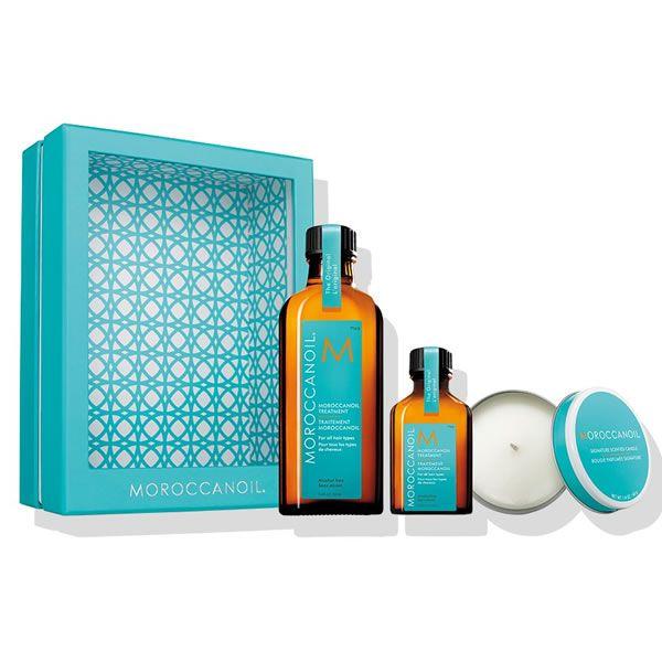 Moroccanoil Home And Away Traitement Coffret 3 Produits Cosmetiques Online