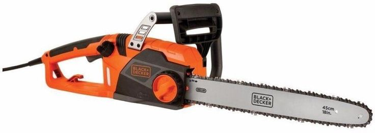 18 In. Low Kickback 15 Amp Electric Chainsaw Outdoor Power Equipment New #chainsaw