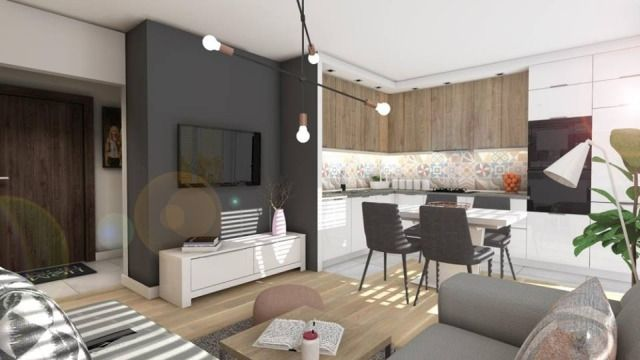 Wnętrze zaprojektowane przez Martę Bednarską-Małek ze studia DesignBox