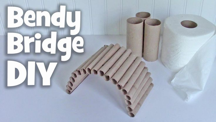 DIY Bendy Bridge by Hammy Time