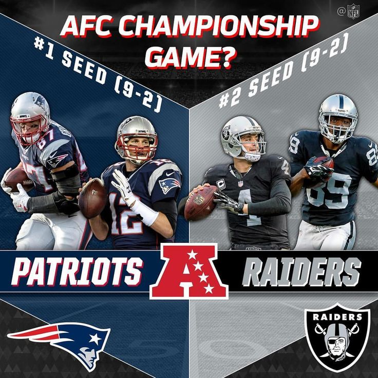 Will this be the AFC Championship Game?