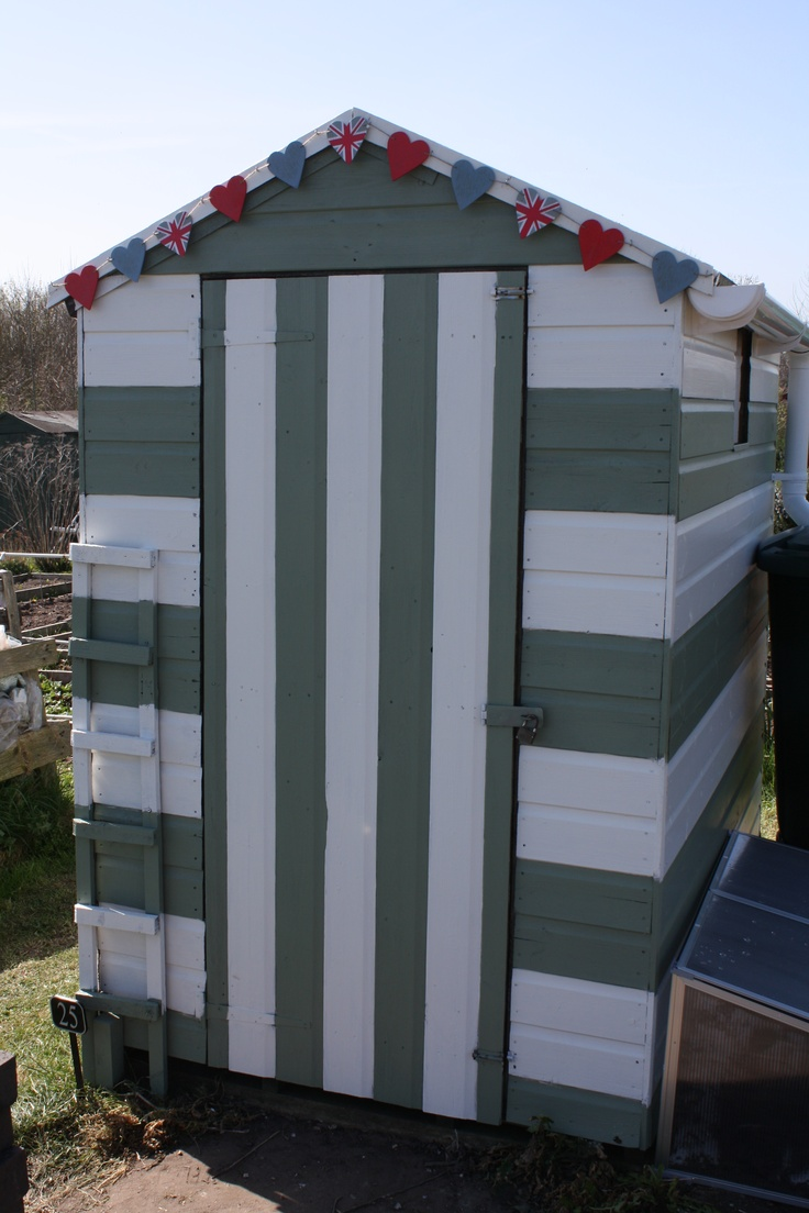 My new allotment shed!