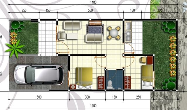 rumah minimalis type 45 17