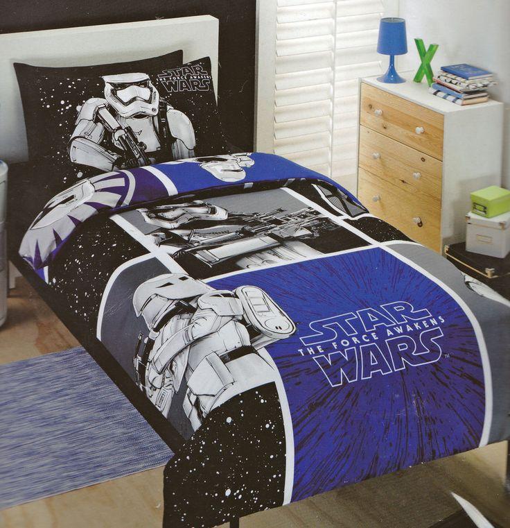 Licensed BLUE Storm Trooper STAR WARS  SINGLE Duvet/Doona/Quilt Cover SET BNIP 9345140040624 | eBay