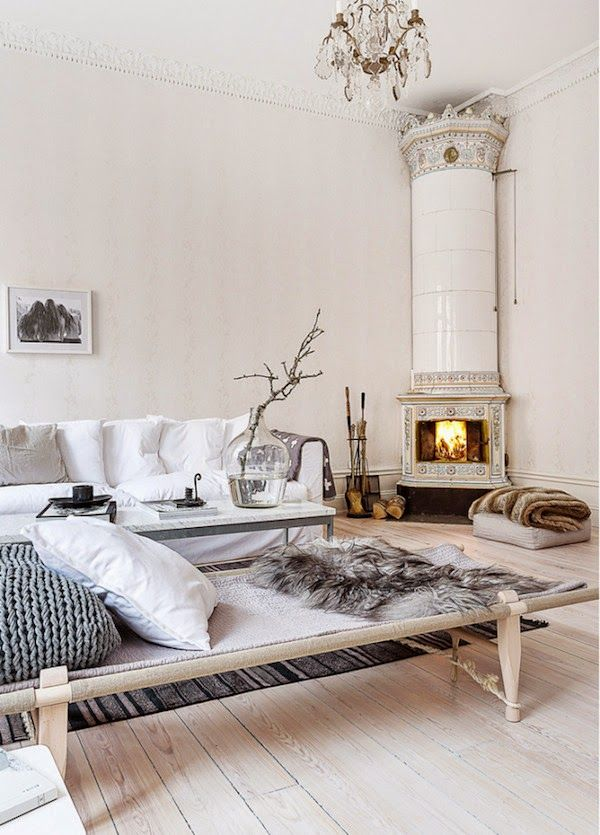 my scandinavian home: An elegant Swedish space in neutrals