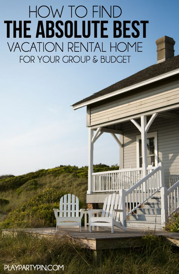 These are great tips for finding an awesome vacation rental no matter what your budget, such helpful travel tips!